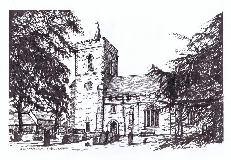 St James Church, Biddenham