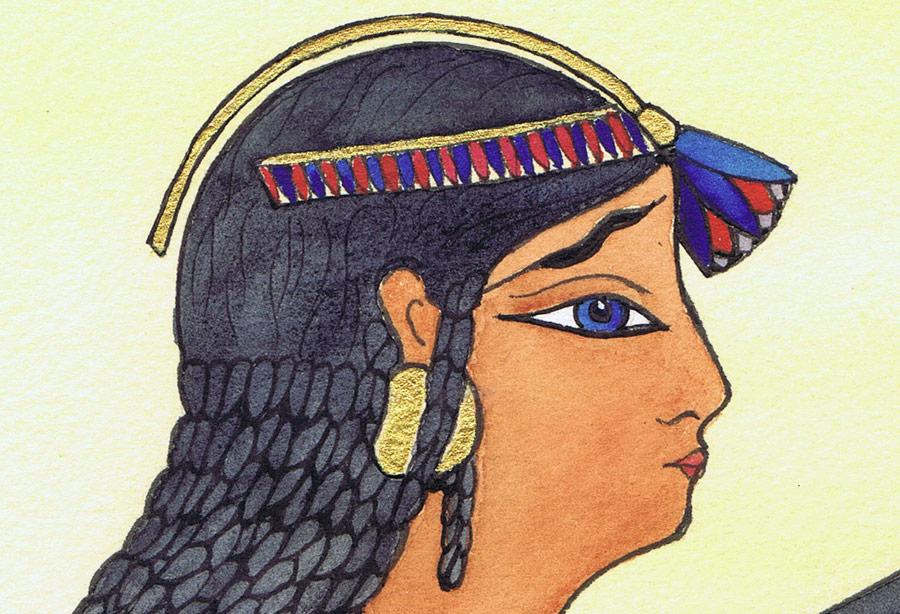 Egyptian Slave Girl