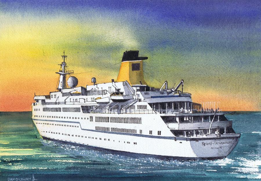 MV Spirit last cruise